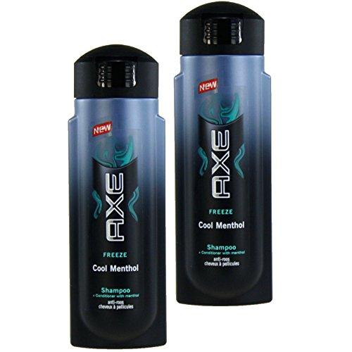 2 x 300ml Axe Anti Schuppen Cool Menthol Shampoo
