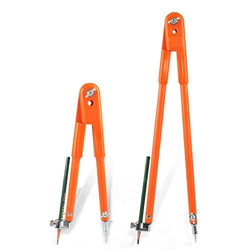 Verstellbarer Tischlerer-Präzisionsbleizirkel mit großem Durchmesser Trenner Markieren und Kritzen von Holzbearbeitung