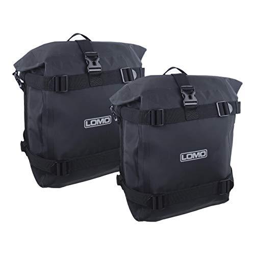 Lomo Motorcycle Adventure Pannier Dry Bags - Large (1 Pair)
