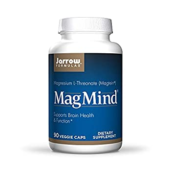 Jarrow Formulas MagMind - 90 Capsules - Includes Magnesium L-Threonate  Magtein  - Supports Brain Health & Function - 30 Servings