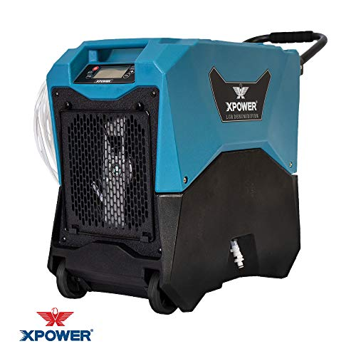 XPOWER XD-85LH Commercial LGR Dehumidifier w/Handle & Wheels