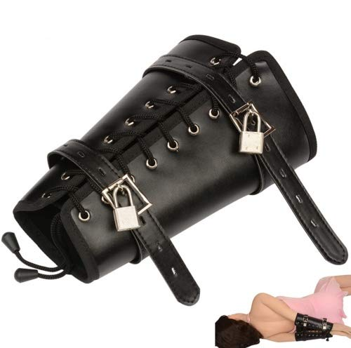 Armbinder abschließbar mit zwei Schlössern Bondage BDSM Handfessel Armfessel