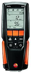 Testo 0563 3110 Analizador de gases de combustión, kit con impresora