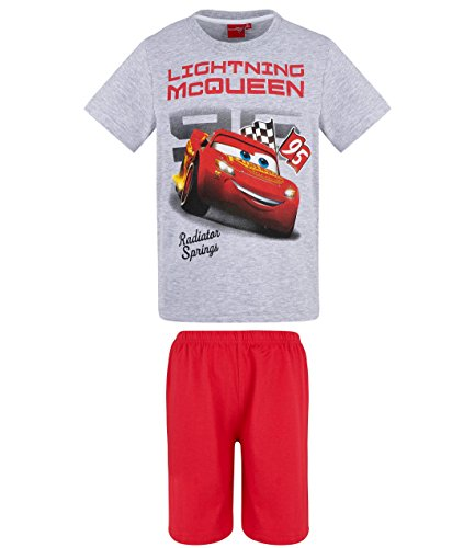 Disney Cars Jungen Shorty-Pyjama - grau - 128