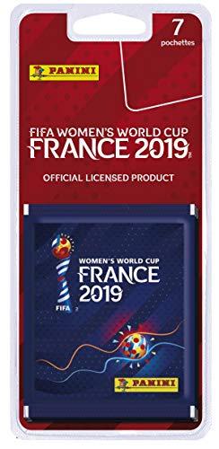 professionnel comparateur Panini-7 Pack Coupe du Monde Féminine de la FIFA, France 2019, 2507-038 choix