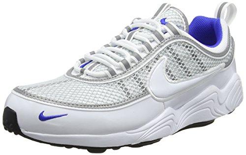Nike Air Zoom Spiridon '16, Zapatillas de Gimnasia para Hombre, Blanco (White/White/Pure Platinum/Racer Blue 104), 42 EU