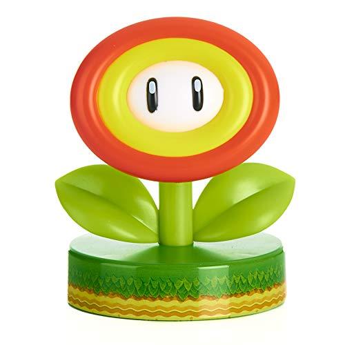 Paladone Super Mario Fire Flower Icon Licht – Offiziell lizenziertes Nintendo Merchandise