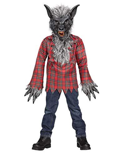 Horror-Shop Loup-Garou Costume Gris Taille M