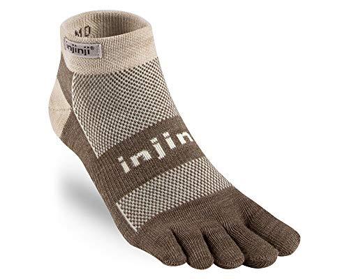 Injinji 2.0 Outdoor Original Weight Micro Nuwwol Socks, Oatmeal - X-Large