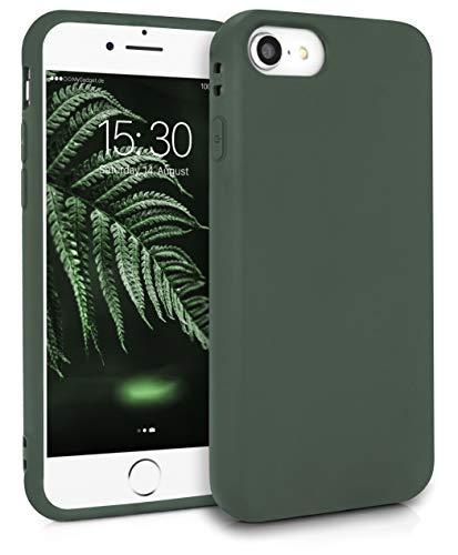 MyGadget Friendly Pocket Custodia TPU per Apple iPhone 7/8 / SE 2020 - Case Ultra con Bordi Rinforzati – Cover Silicone Antiurto e AntiGraffio - Verde