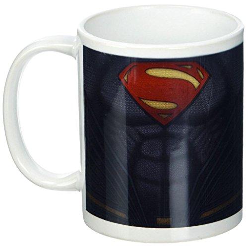 Offizieller DC Comics Dawn of Justice Superman Chest Suit Up Kaffeetasse – verpackt