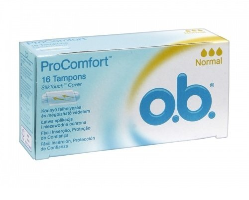 3 O.B. Tampons - Pro Comfort Normal Tampons 3 x 16 pcs by O.B. Tampons