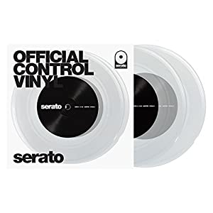 "10"" Serato Control Vinyl - Standard Colors - Clear (PAIR)"