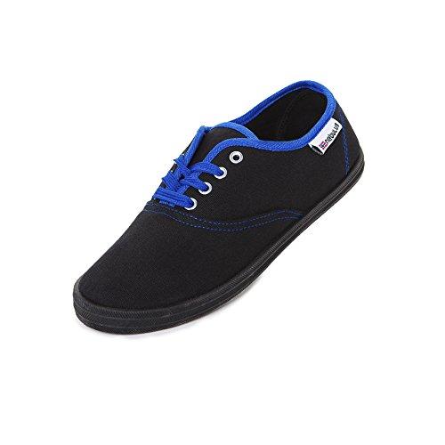 Nebulus Schuhe Sneaker Marina, Damen, schwarz, Größe 42 (Q1414)