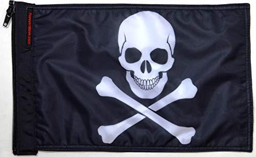 Forever Wave Jolly Roger Flag