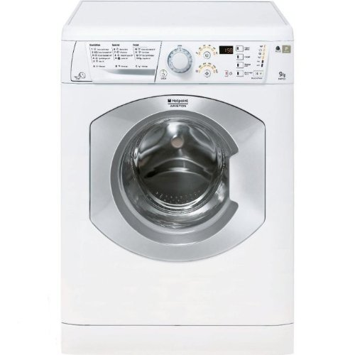 Hotpoint HAF 921 S FR Autonome Charge avant 9kg 1200tr/min A+ Blanc machine à laver - Machines à laver (Autonome, Charge avant, Blanc, Gauche, 1,7 m, 9 kg)