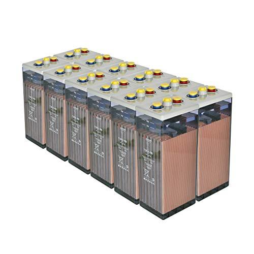 Bateria Solar, 7 OPZS 490 24V Mas de 20 años de Vida