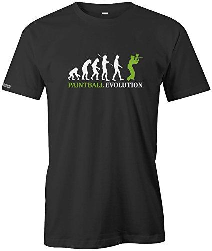 Jayess PAINTBALL EVOLUTION - HERREN - T-SHIRT in Schwarz by Gr. XXL