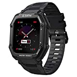 KOSPET ROCK Outdoor Fitness Sports Smart Watch 1.69 Inches 20 Sports Modes 3ATM Waterproof, Support Dynamic Dial, 350mA Large Battery, Long Battery Life