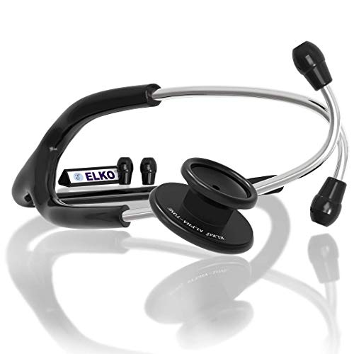 ELKO EL-050 ALPHA-TONE Aluminium Head Stethoscope for Doctors and Students