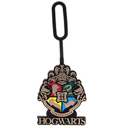 HARRY POTTER Hogwarts Luggage Tag Official Licensed Product, Étiquette de Bagage Poudlard Produit sous Licence Officiel Homme, Divers, Taille Unique