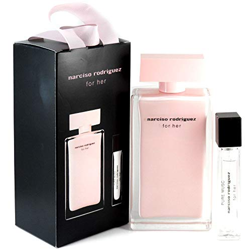 Narciso Rodriguez 57966 Set For Her Eau de Parfum y Eau de Parfum Pure Musc, 110 ml