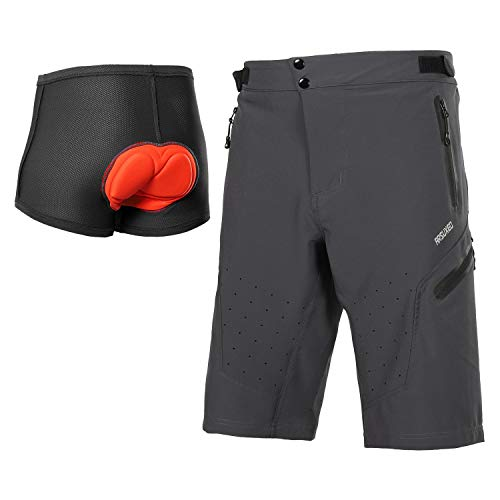 ARSUXEO Outdoor Sports Men's MTB Cycling Shorts