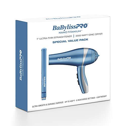 secador y plancha de pelo de la marca BaBylissPRO