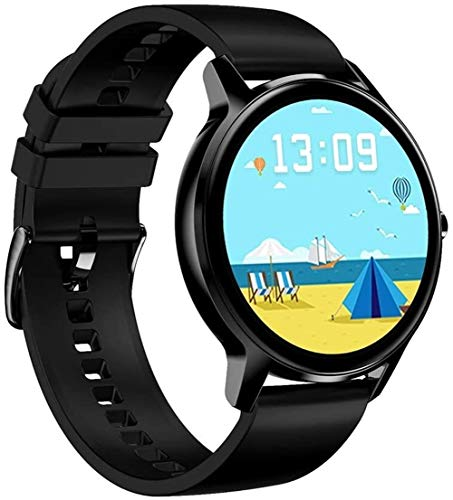 Rastreador de ejercicios inteligente reloj IP67 a prueba de agua a prueba de la nadada, con pantalla táctil completa for los hombres de las mujeres, reloj de la aptitud con el monitor de ritmo cardíac