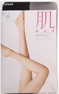 【アツギ/ATSUGI】アスティーグ/ASTIGU 肌 素肌感 ゆったりサイズ パンティストッキング(ブラック、JM-L)