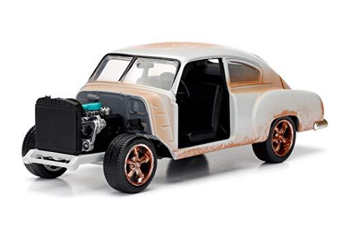 Jada Toys-Chevrolet Fleetline-Dom–Fast and Furious 8- Escala 1,24–Color Blanco
