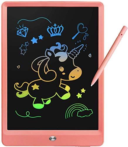 MiluMilu お絵かきボード 10インチお絵かきおもちゃ お絵描きボード 電子パッド 電子メモ, おえかきボード 女の子 おもちゃ 男の子 誕生日 子供知育玩具 クリスマス プレゼント 人気 (ピンク)