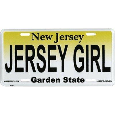 NJ Jersey Girl License Plate
