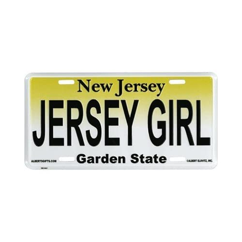 The Jersey Shore New Jersey Aluminum License Plate