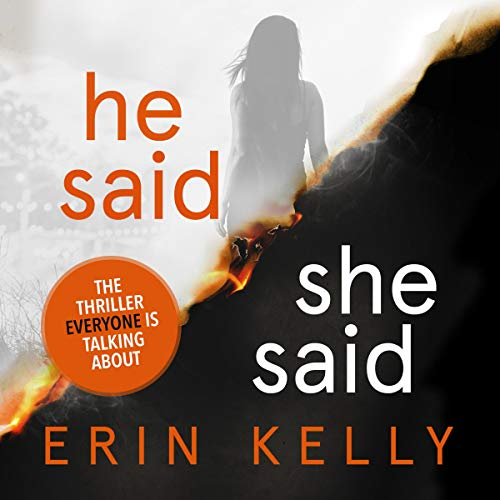 He Said/She Said audiobook cover art