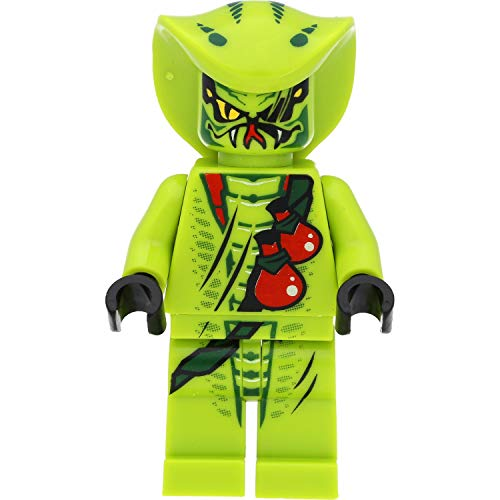 LEGO Ninjago Minifigur: Giftnatter Lasha (1. Version) mit Schwertern