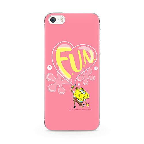 Ert Group NPCSBOB1526 Custodia per Cellulare SpongeBob 003 iPhone 5/5S/SE