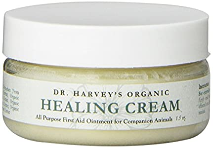 Dr. Harvey's Organic First Aid Healing Cream for Dogs, 1.5-Ounce Jar