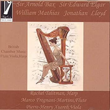 British Chamber Music for Flute, Viola and Harp