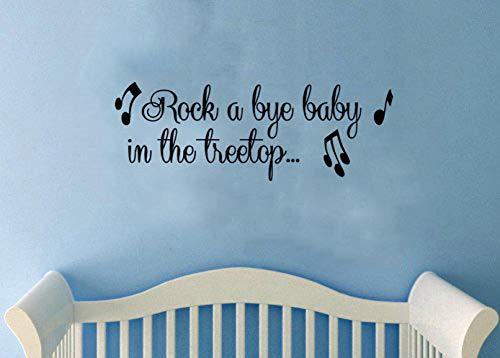 Rock a Bye Sticker mural pour chambre d'enfant