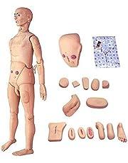 Demostración Humano Entrenamiento de Maniquí Paciente Cuidado Modelo 170 cm Vida Tamaño para Enfermería Médico Formación Enseñando y Educación Médico Suministros