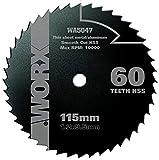 WORX WA5047 WORXSAW 115 mm 60T HSS Blade