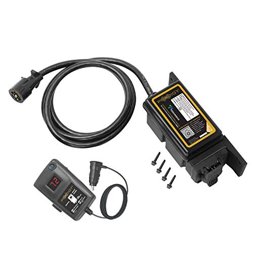 Tekonsha 902501 Prodigy RF Electronic Brake Control with Bluetooth Mounted for 1-3 Axle Trailers