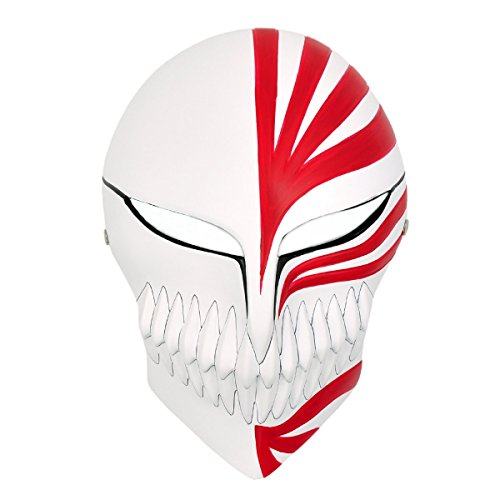 CoolChange Bleach Hochwertige Hollow Maske Ichigo Kurosaki aus GFK