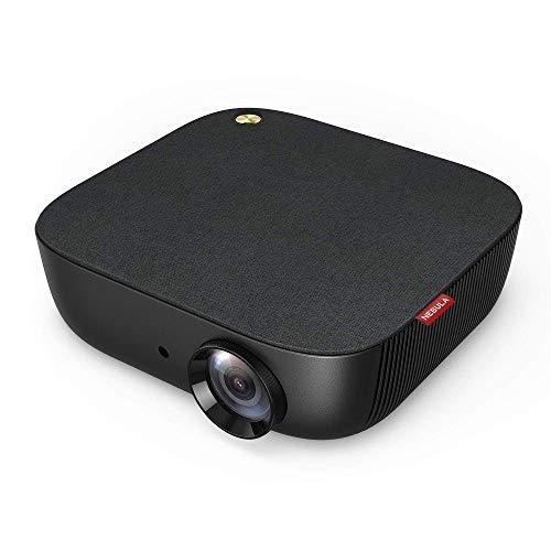Nebula Prizm II von Anker 3600 Lux 1080p Full HD Video LCD-Projektor, Duale 5W Lautsprecher, Kino für Zuhause, Multimedia, Automatische Trapezkorrektur, HDMI- und USB-Funktionen(Generalüberholt)