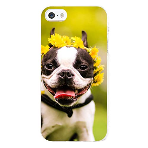 Cute French Bulldog Case for iPhone 5/5s, 5/5s Protective Cover, Cellphone Case Cover -4 inches