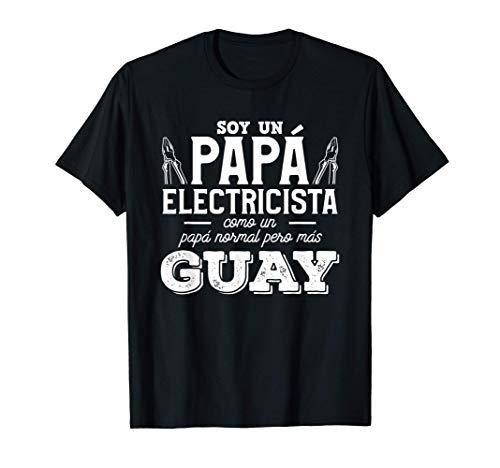 Hombre Cita Divertida Ingeniería Eléctrica Para Papá Electricista Camiseta