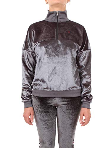 Champion 112278 Sweat-Shirt Femme Noir M