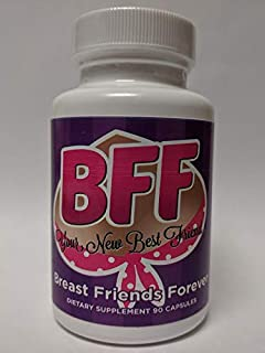 BFF Pills Breast Friends Forever Success in Quick Bust Enhancement 90 Capsules