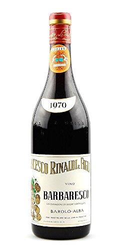 Wein 1970 Barbaresco Francesco Rinaldi